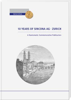 10 Years of Sincona AG Zurich - Cover
