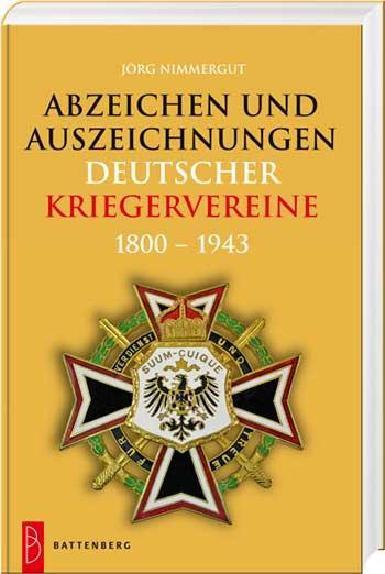 Abzeichen und Auszeichnungen deutscher Kriegervereine - Cover