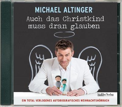 Auch das Christkind muss dran glauben (Hörbuch) - Cover