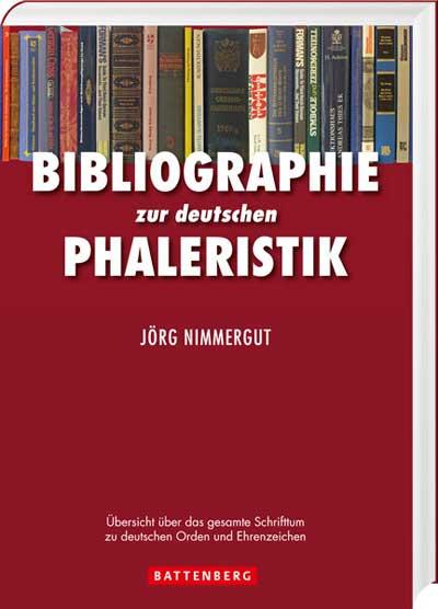 Bibliographie zur deutschen Phaleristik - Cover