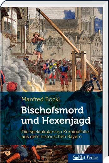 Bischofsmord und Hexenjagd - Cover