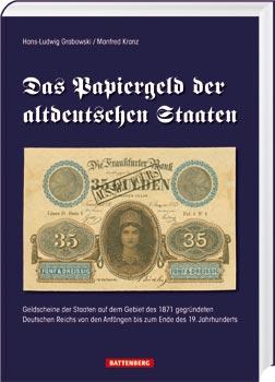 Das Papiergeld der altdeutschen Staaten - Cover