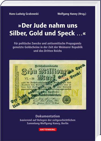 Der Jude nahm uns Silber, Gold und Speck... - Cover
