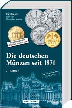 Die deutschen Münzen seit 1871 - Cover