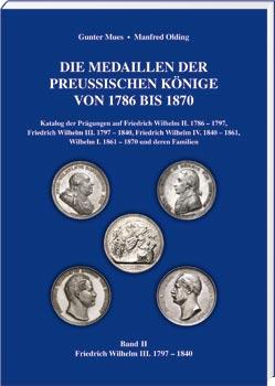 Die Medaillen der Preußischen Könige von 1786 bis 1870, Band 2 - Cover