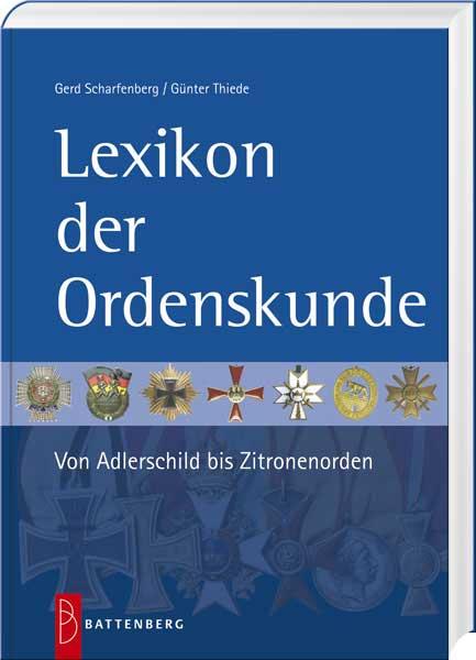 Lexikon der Ordenskunde - Cover