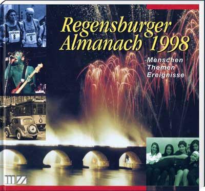 Regensburger Almanach 1998 - Cover