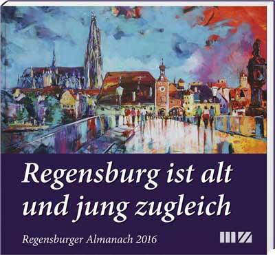 Regensburger Almanach 2016 - Cover