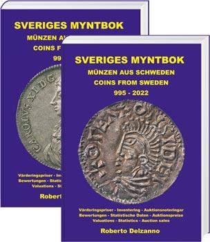 Sveriges Myntbok – Münzen aus Schweden – Coins from Sweden 995 – 2022 - Cover