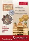 """Unser Verlagsprogramm """"Faszination Sammeln"""" - Cover"""