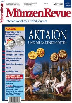 MünzenRevue Ausgabe 11/2020 - Cover